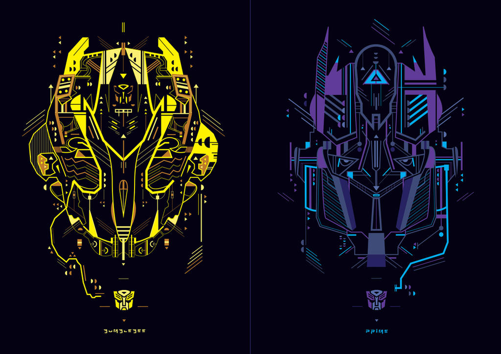 Autobots by shoelesspeacock