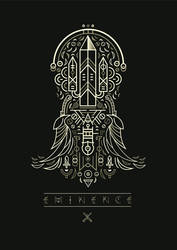 Eminence - The Trading Card Roleplaying Game by shoelesspeacock