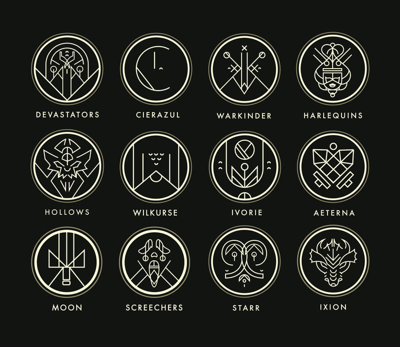 Eminence Crests by shoelesspeacock