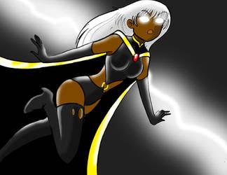 X-men : Storm by Koku-chan