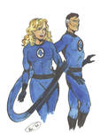 Fantastic Four : Reed and Sue