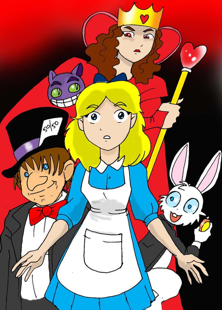Alice in Wonderland by Koku-chan