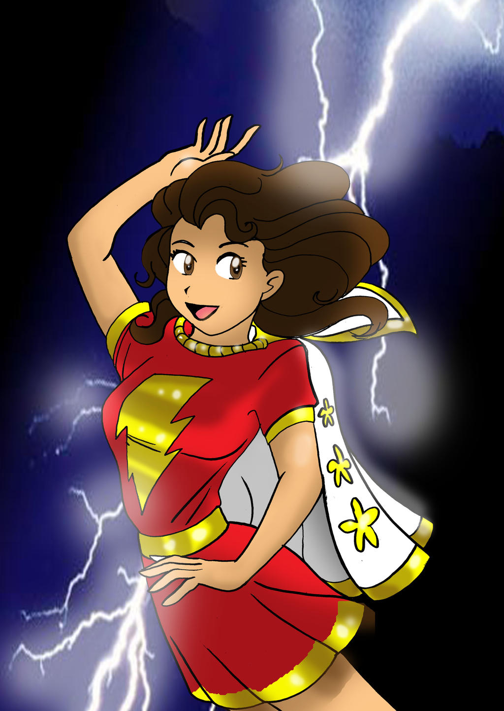 Mary Marvel by Koku-chan