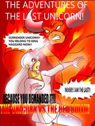 The Last Unicorn Super-hero style! by Koku-chan