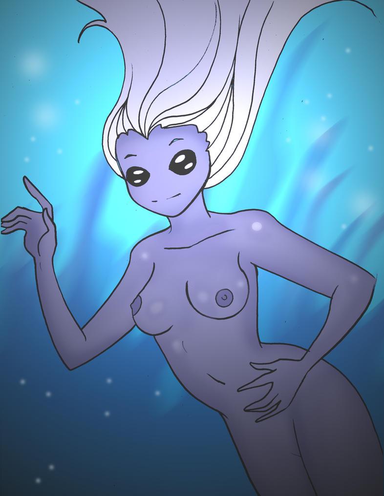 Undersea Encounter by Koku-chan