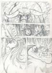 Last Unicorn panel sketch