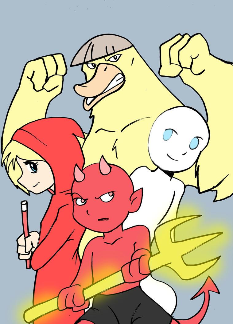 The H team by Koku-chan