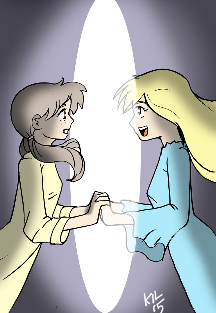 Dorothy meets Alice by Koku-chan