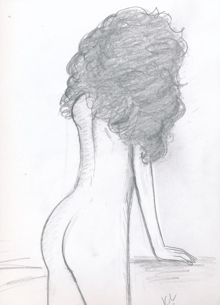 Nude Sketch by Koku-chan