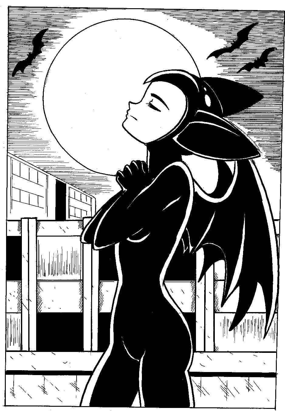 Little bat Koku:Ears wide open by Koku-chan