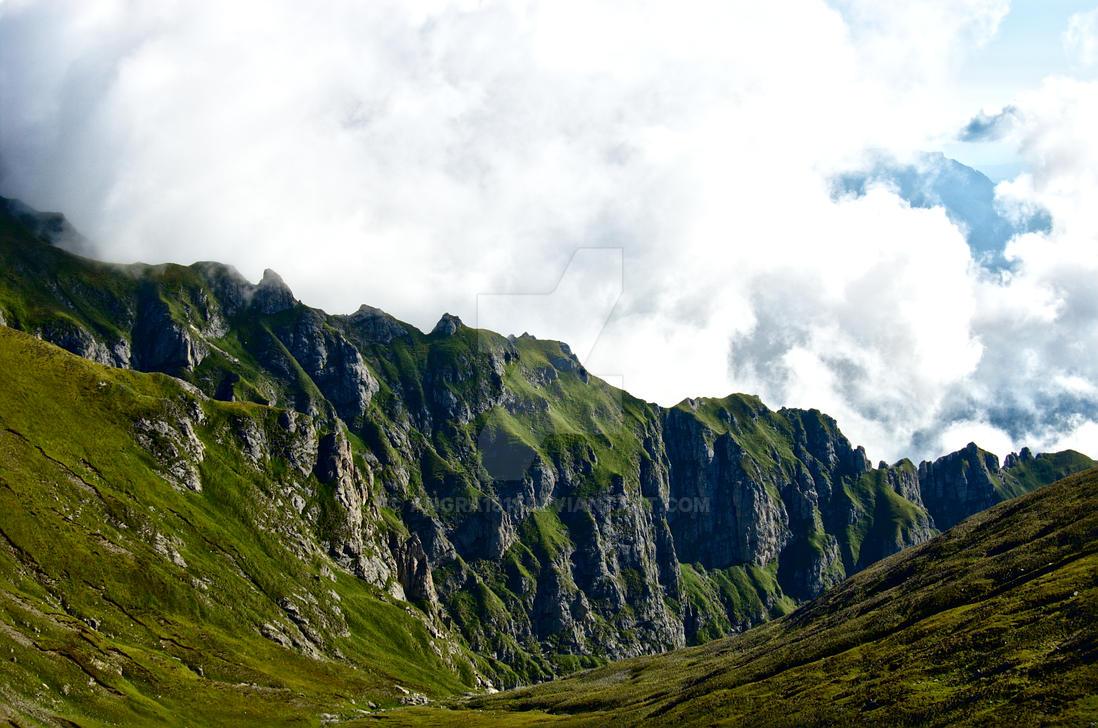 mountain_ridge by angra1811