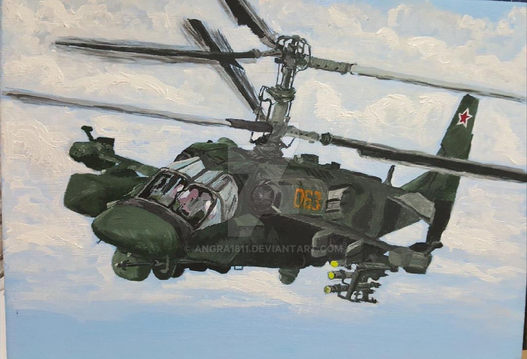 Kamov KA-52 by angra1811