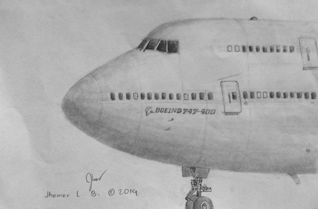 how to draw a boeing 787 step by step