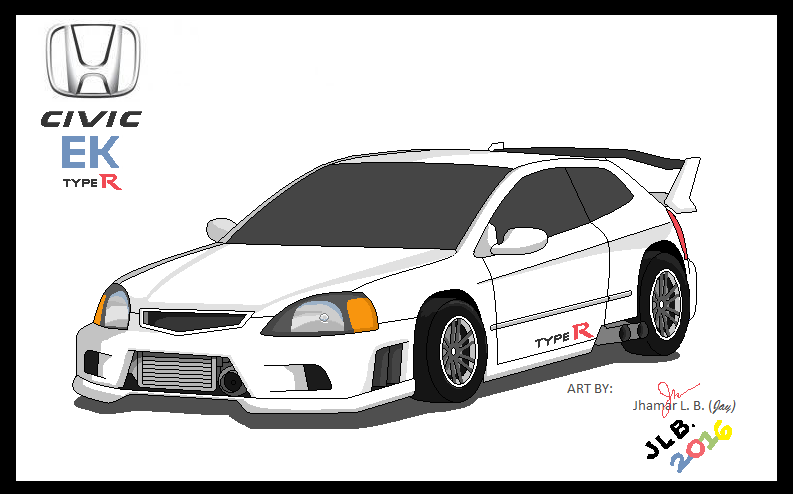internet cafe project  turbo honda civic ek type r by