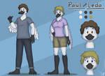 Commission - Paul and Leda by SammfeatBlueheart