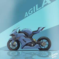 Llevado AGILA (Timelapse Superbike Design)