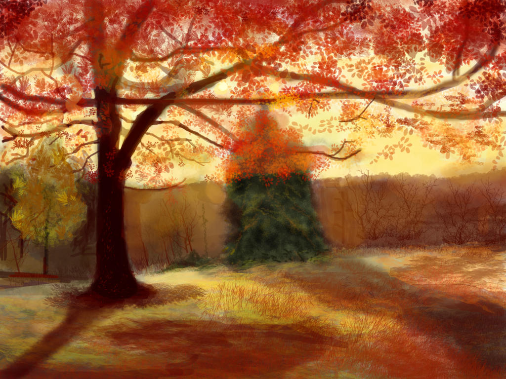 Crimson Park by nilesh10494