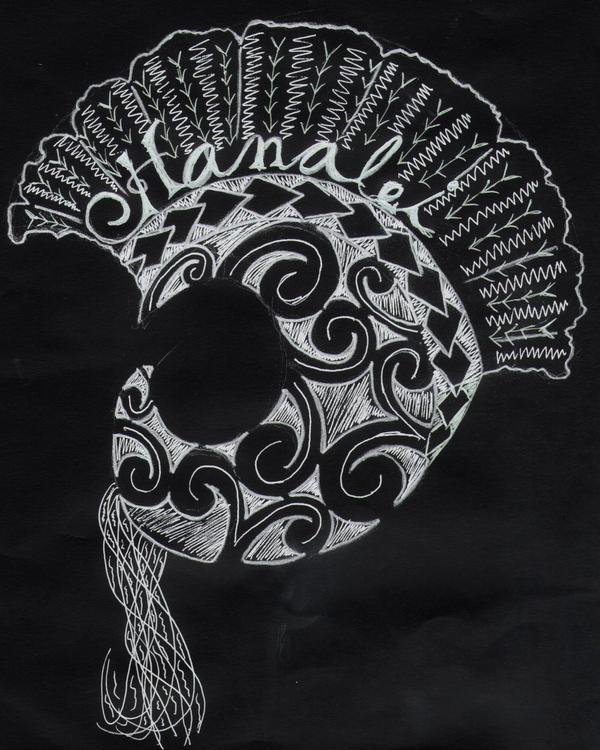Polynesian Tribal Wallpaper: Ikaika Helmet By RamUmHARD On DeviantArt