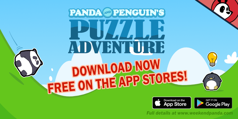 Indiegame: Panda and Penguin's Puzzle Adventure by JKRiki