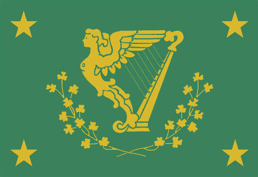 Ireland state flag - Hire united state