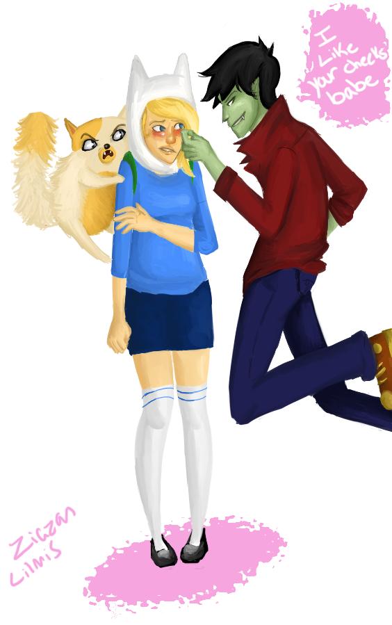 Fionna and Marshall Lee Comics