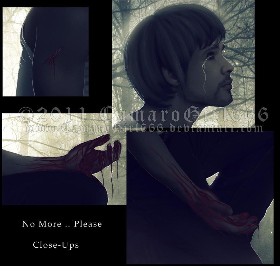 No More .. Please CLOSE-UPS by CamaroGirl666
