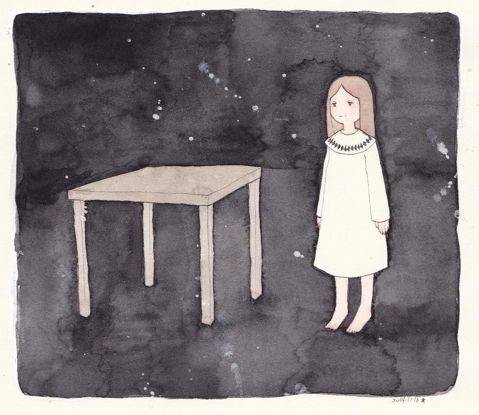 Table by 444blackstar