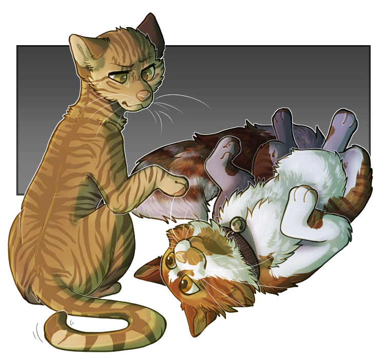[Commission] Minnie and Cheeto by Eaglidots