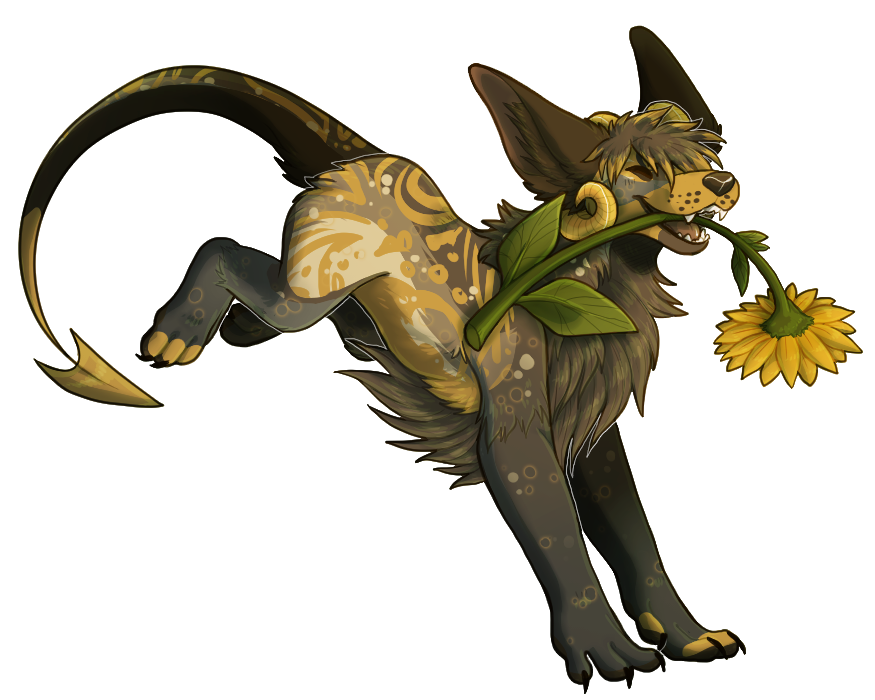[Commission] I Got a Sunflower !! by Eaglidots