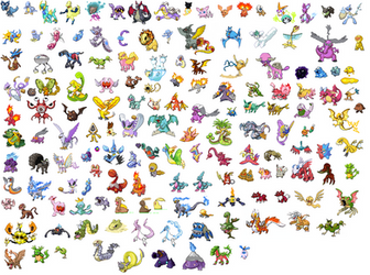 Pokemon Rufus Shiny Sprites Front by NaoTheSillyDuffer
