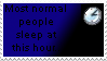 Normal People...Stamp by SailorSolar