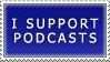 Podcast Stamp by SailorSolar