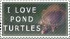 Pond Turtles stamp by SailorSolar