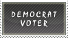 Democrat Voter Stamp by SailorSolar