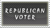 Republican Voter Stamp