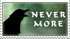 Nevermore Stamp by SailorSolar