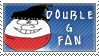 Double G Fan Stamp by SailorSolar