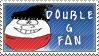 Double G Fan Stamp by SailorSolar