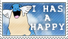 Happy Sealeo Stamp by SailorSolar