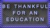 Education Stamp by SailorSolar