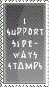 Sideways Stamp by SailorSolar