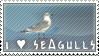 I Heart Seagulls Stamp
