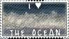I Heart The Ocean Stamp