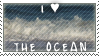 I Heart The Ocean Stamp by SailorSolar