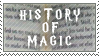 HP: History of Magic Stamp by SailorSolar