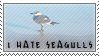 I hate seagulls stamp by SailorSolar