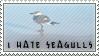 I hate seagulls stamp by SailorSolar
