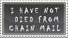 Chain Mail Stamp 2 by SailorSolar