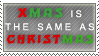 X Christmas Stamp by SailorSolar