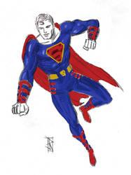 The SuperMan by JamesRitcheyIII